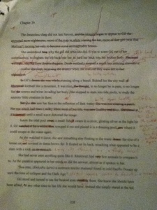 Sample of redline editing. ALD book 2