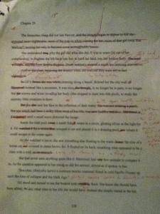 Sample of redline editing. ALD book 2