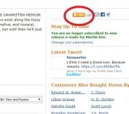 Amazon Like page